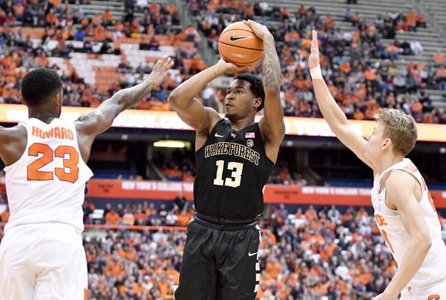 Wake Forest vs. Georgia Tech - 2/14/18 College Basketball Pick, Odds, and Prediction