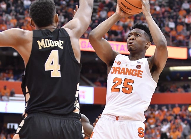Syracuse vs. Wake Forest - 3/6/18 College Basketball Pick, Odds, and Prediction