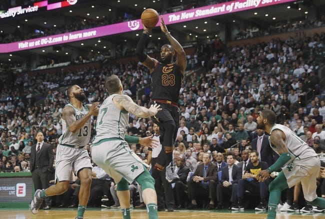 Cleveland Cavaliers at Boston Celtics Game 1 - 5/13/18 NBA Pick, Odds, and Prediction
