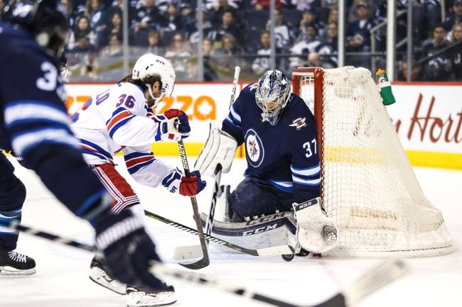 New York Rangers vs. Winnipeg Jets - 3/6/18 NHL Pick, Odds, and Prediction
