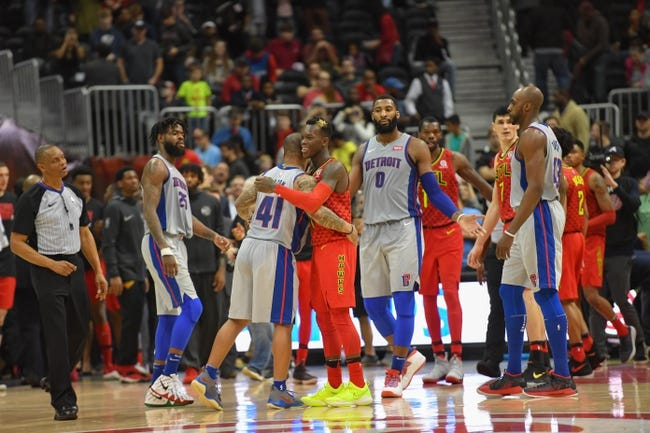 Detroit Pistons vs. Atlanta Hawks - 2/14/18 NBA Pick, Odds, and Prediction