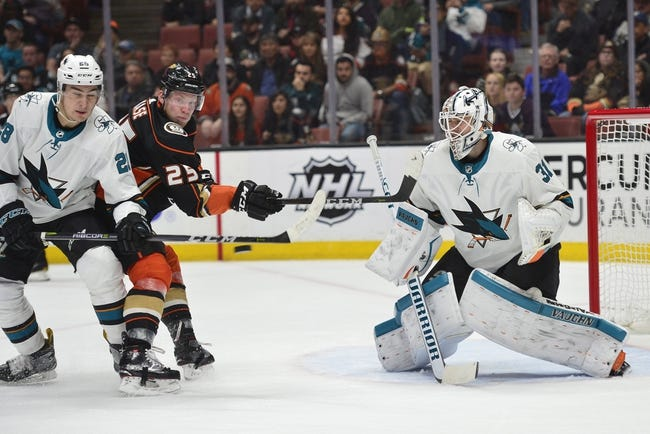 Anaheim Ducks vs. San Jose Sharks - 4/12/18 NHL Pick, Odds, and Prediction