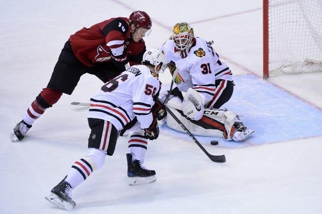 Chicago Blackhawks vs. Arizona Coyotes - 10/18/18 NHL Pick, Odds, and Prediction