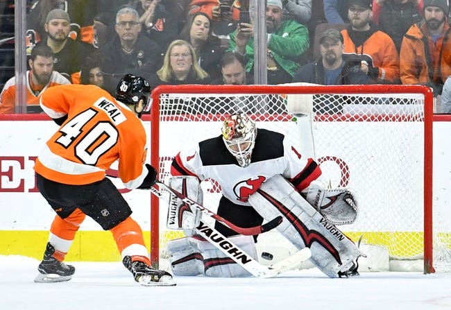 NHL | New Jersey Devils (4-1-0) at Philadelphia Flyers (3-4-0)