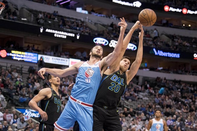 Sacramento Kings vs. Dallas Mavericks - 3/27/18 NBA Pick, Odds, and Prediction