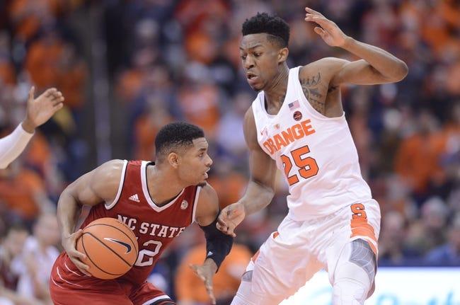 NCAA BB | Syracuse at North Carolina State
