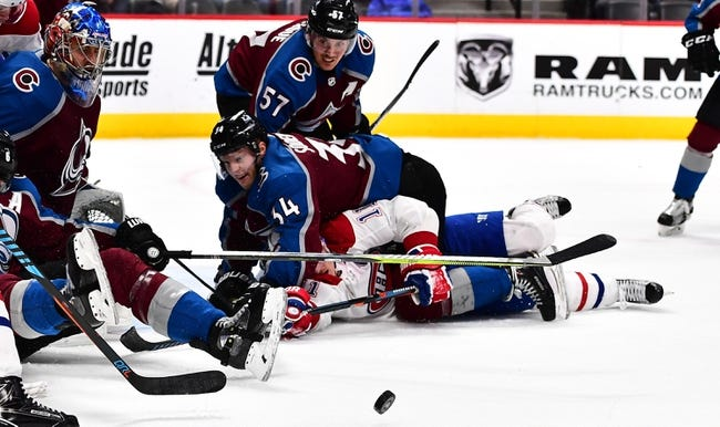 NHL | Montreal Canadiens (17-12-5) at Colorado Avalanche (18-10-6)