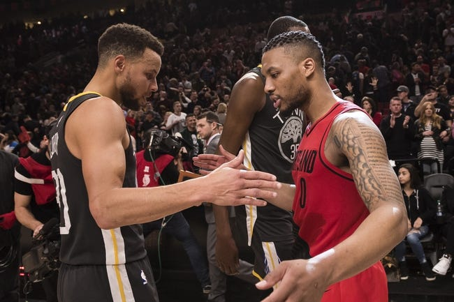Portland Trail Blazers vs. Golden State Warriors - 3/9/18 NBA Pick, Odds, and Prediction