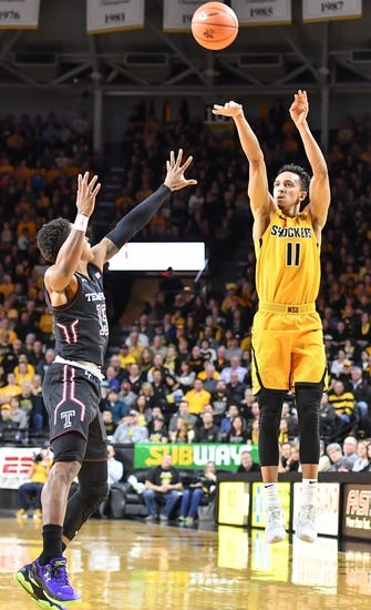 NCAA BB | Tulane Green Wave (13-13) at Wichita State Shockers (21-5)