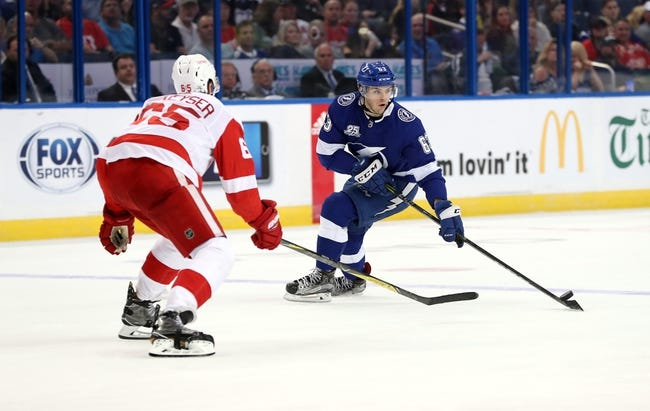 NHL | Detroit Red Wings (0-4-2) at Tampa Bay Lightning (3-1-0)