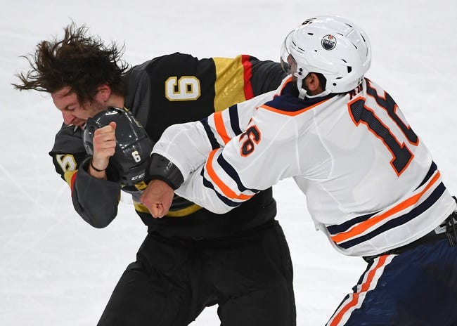 Edmonton Oilers vs. Vegas Golden Knights - 4/5/18 NHL Pick, Odds, and Prediction