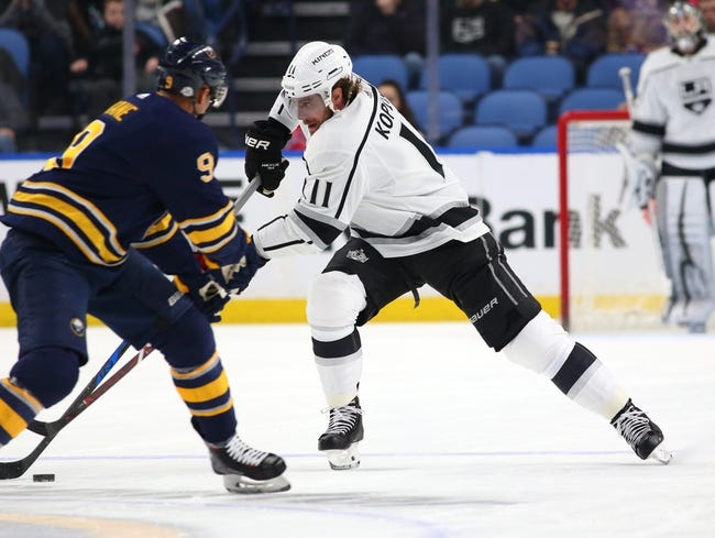 Los Angeles Kings vs. Buffalo Sabres - 10/20/18 NHL Pick, Odds, and Prediction