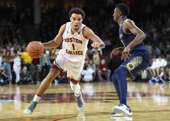 NCAA BB | Boston College at Notre Dame