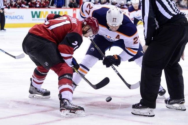 Edmonton Oilers vs. Arizona Coyotes - 3/5/18 NHL Pick, Odds, and Prediction