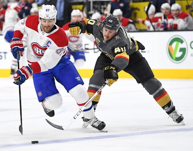 NHL | Vegas Golden Knights (7-8-1) at Montreal Canadiens (8-5-3)