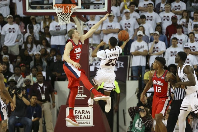 NCAA BB   Ole Miss at Mississippi State