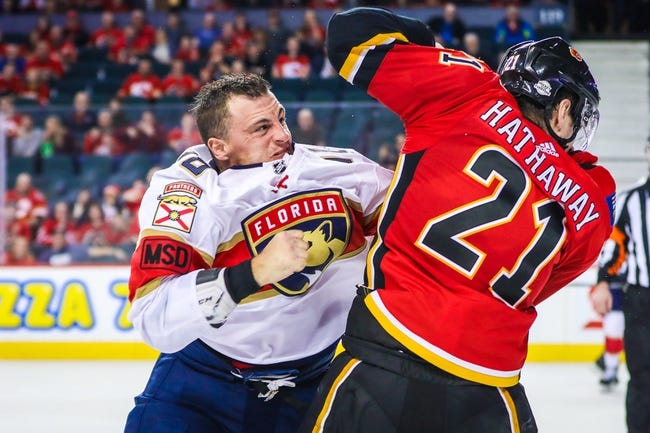 NHL | Florida Panthers at Calgary Flames