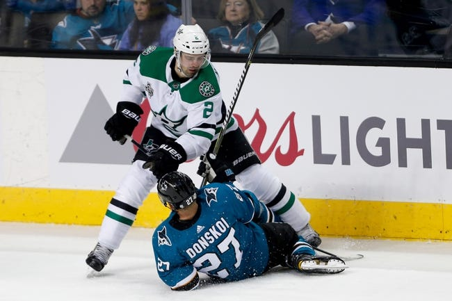 San Jose Sharks vs. Dallas Stars - 4/3/18 NHL Pick, Odds, and Prediction