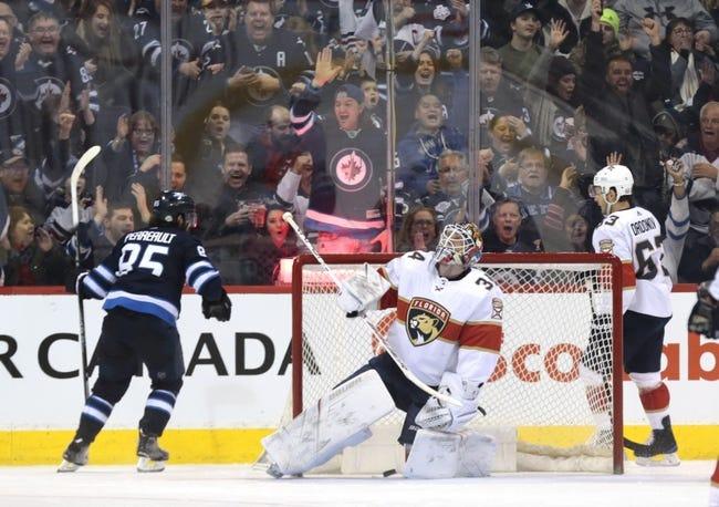 NHL | Florida Panthers (2-5-3) at Winnipeg Jets (8-4-1)