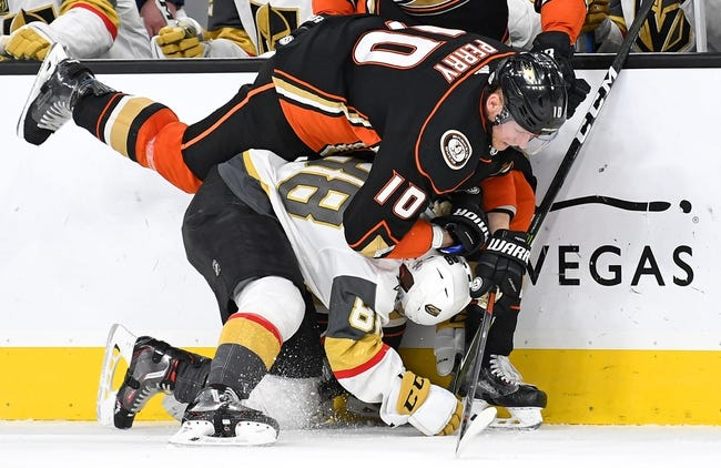 Vegas Golden Knights vs. Anaheim Ducks - 10/20/18 NHL Pick, Odds, and Prediction