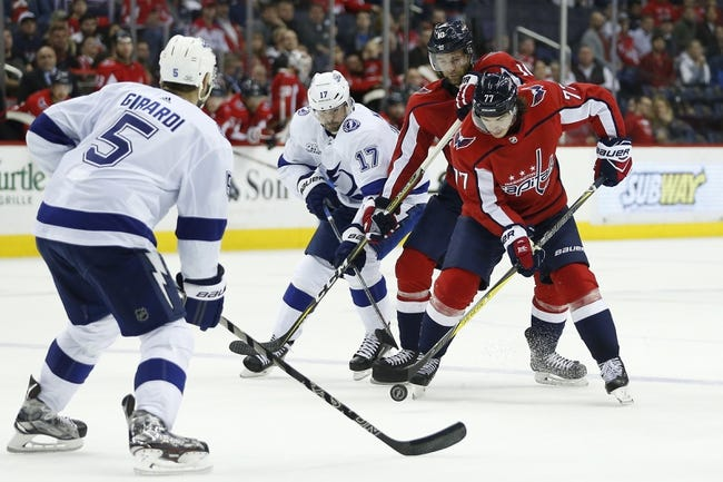NHL | Washington Capitals (57-28-9) at Tampa Bay Lightning (62-25-5)