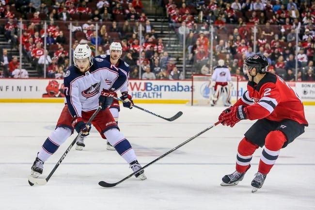 NHL | New Jersey Devils (11-14-7) at Columbus Blue Jackets (18-12-3)