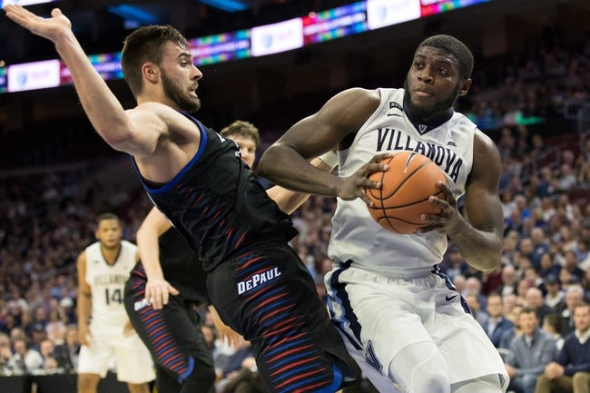 NCAA BB | DePaul Blue Demons (8-4) at Villanova Wildcats (9-4)