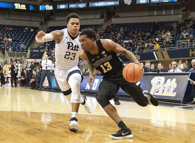 NCAA BB   Pittsburgh at Wake Forest