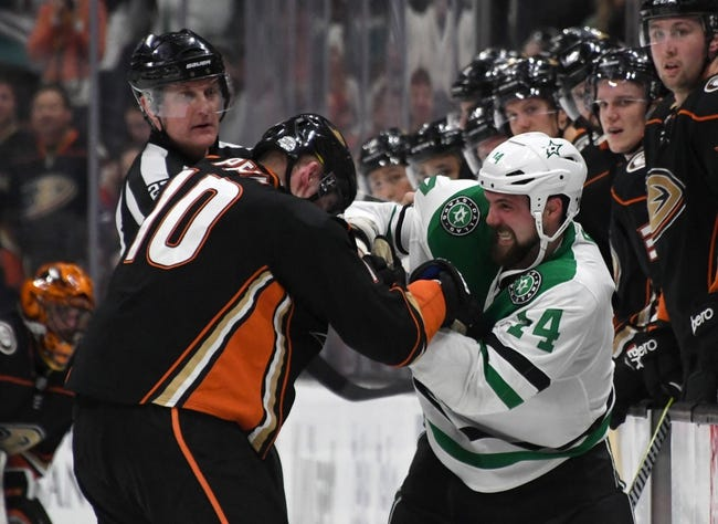 Dallas Stars vs. Anaheim Ducks - 3/9/18 NHL Pick, Odds, and Prediction