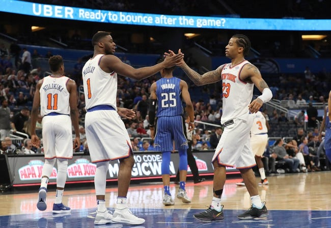 New York Knicks vs. Orlando Magic - 4/3/18 NBA Pick, Odds, and Prediction