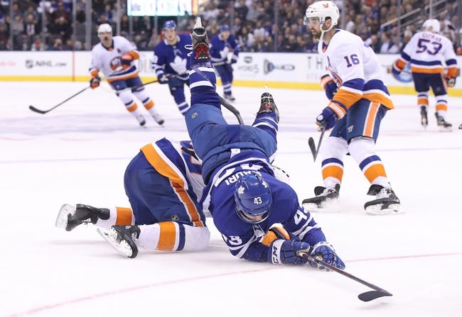 New York Islanders vs. Toronto Maple Leafs - 3/30/18 NHL Pick, Odds, and Prediction
