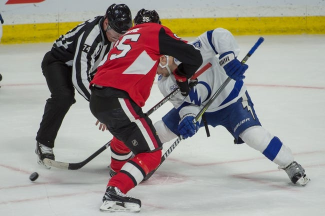 Tampa Bay Lightning vs. Ottawa Senators - 3/13/18 NHL Pick, Odds, and Prediction