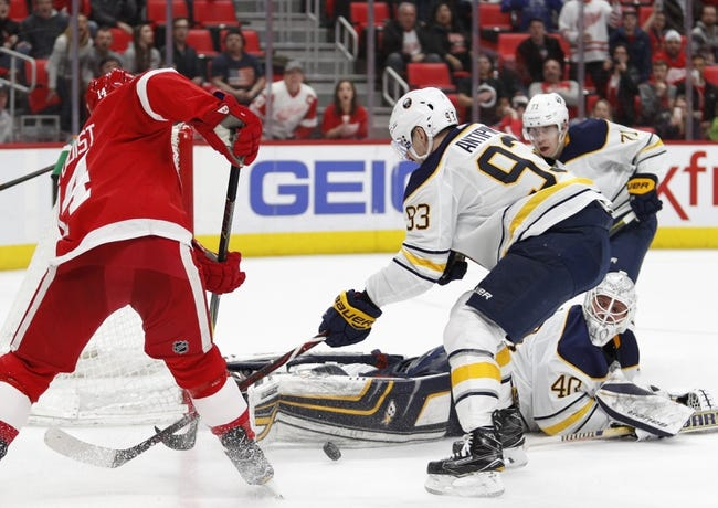 Buffalo Sabres vs. Detroit Red Wings - 3/29/18 NHL Pick, Odds, and Prediction