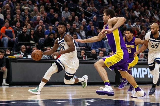 Los Angeles Lakers vs. Minnesota Timberwolves - 4/6/18 NBA Pick, Odds, and Prediction