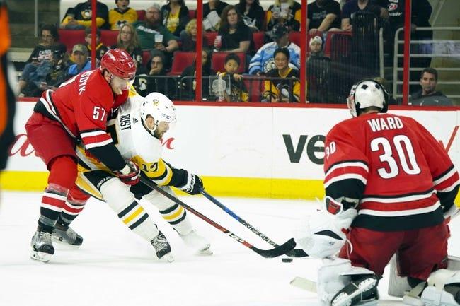 NHL | Pittsburgh Penguins (17-12-6) at Carolina Hurricanes (14-14-5)
