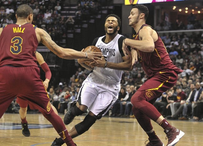 NBA | Cleveland Cavaliers (8-26) at Memphis Grizzlies (17-16)