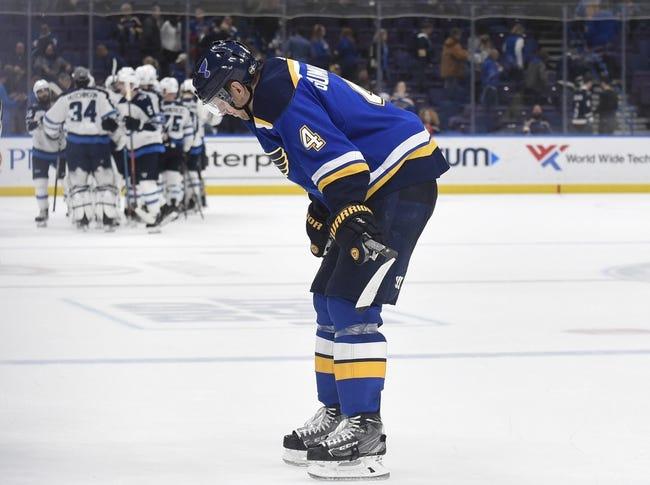 St. Louis Blues vs. Winnipeg Jets - 10/4/18 NHL Pick, Odds, and Prediction