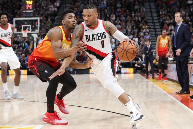 Portland Trail Blazers vs. Utah Jazz - 4/11/18 NBA Pick, Odds, and Prediction