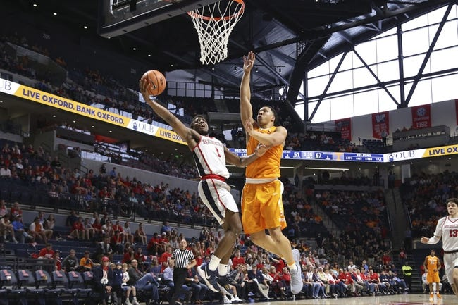 NCAA BB   Tennessee at Ole Miss