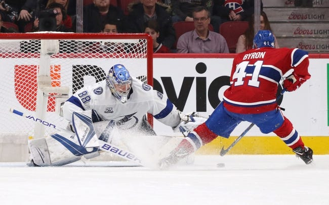 Tampa Bay Lightning vs. Montreal Canadiens - 3/10/18 NHL Pick, Odds, and Prediction