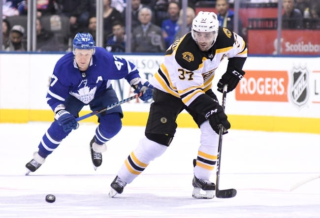 Boston Bruins vs. Toronto Maple Leafs - 4/12/18 NHL Pick, Odds, and Prediction