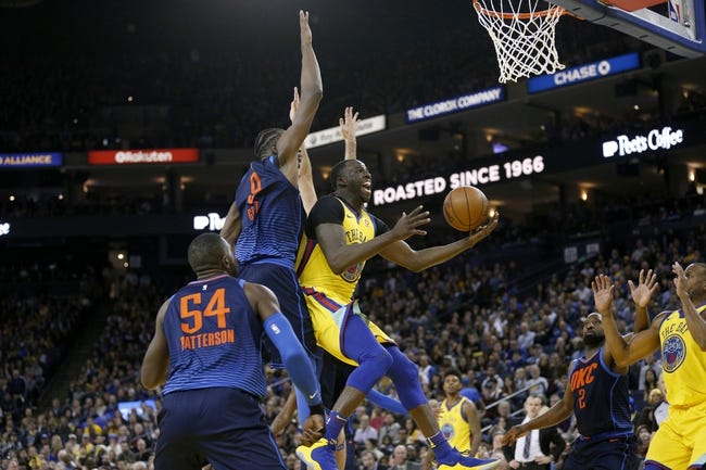 Oklahoma City Thunder vs. Golden State Warriors - 4/3/18 NBA Pick, Odds, and Prediction