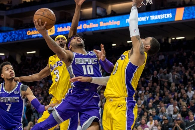 Los Angeles Lakers vs. Sacramento Kings - 4/1/18 NBA Pick, Odds, and Prediction