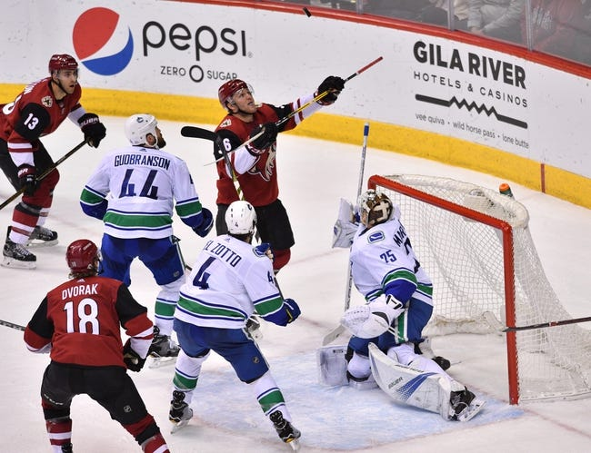 Vancouver Canucks vs. Arizona Coyotes - 3/7/18 NHL Pick, Odds, and Prediction