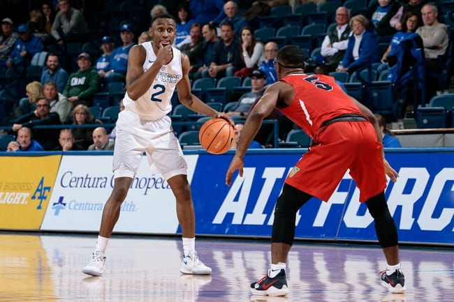 NCAA BB | Air Force at Fresno State