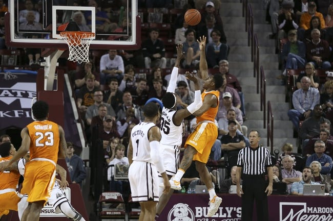 Tennessee vs. Mississippi State - 3/9/18 College Basketball Pick, Odds, and Prediction