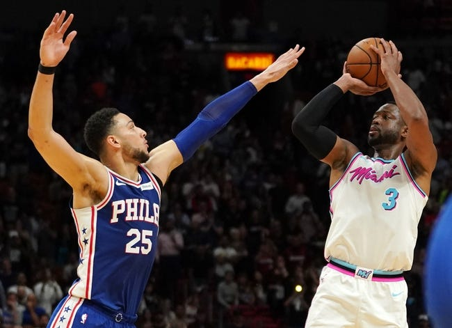 Miami Heat vs. Philadelphia 76ers - 3/8/18 NBA Pick, Odds, and Prediction