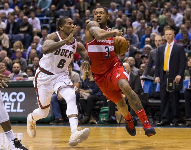 NBA   Milwaukee Bucks at Washington Wizards