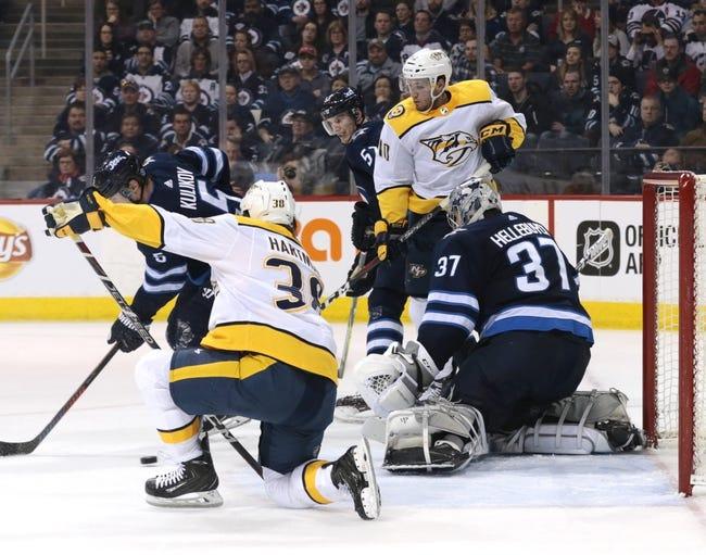Nashville Predators vs. Winnipeg Jets - 3/13/18 NHL Pick, Odds, and Prediction