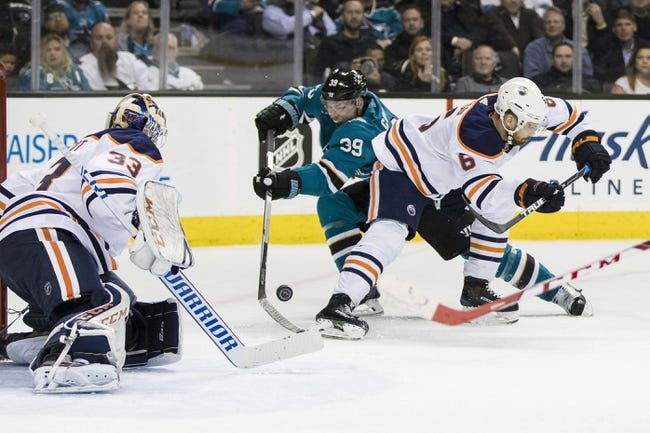 Edmonton Oilers vs. San Jose Sharks - 3/14/18 NHL Pick, Odds, and Prediction